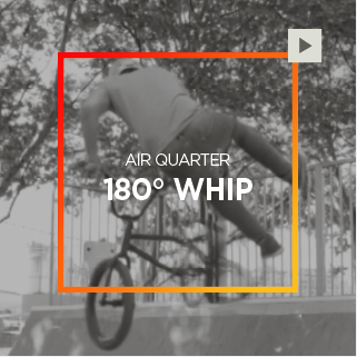 Air Quarter – 180° Whip