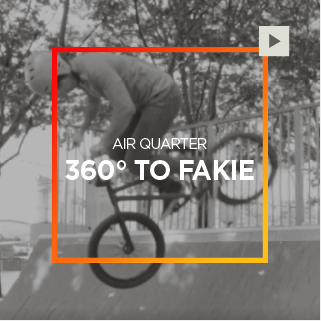 Air Quarter – 360° To Fakie