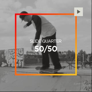 Slide Quarter – 50/50